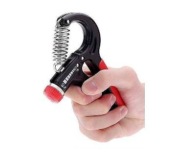 Adjustable Hand Grip Exerciser - Black and Red