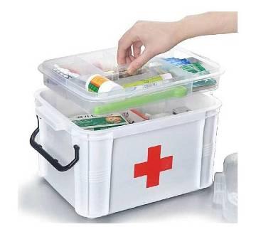 Ongmics Medicines Storage Box First Aid Box