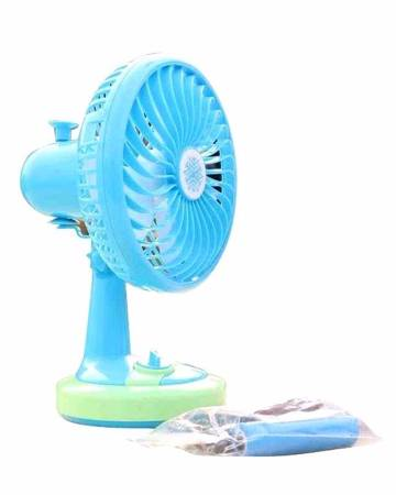"Portable mini fan (6"")"