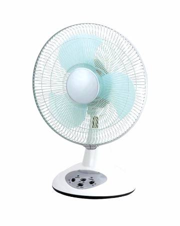Rechargeable Fan 12 Inch - White