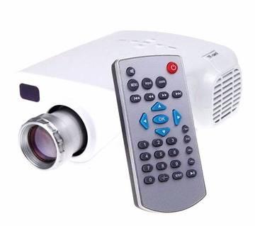 মাল্টিমিডিয়া LED মিনি TV প্রজেকটর উইথ রিমোট