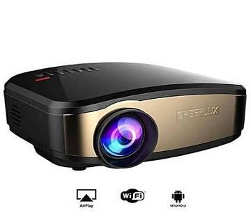 Multimedia LED Mini TV Projector - Black and Golden