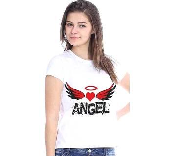 Angel T-shirt ফর উইমেন