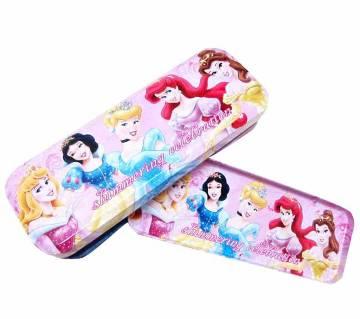 Disney Princess ডাবল পার্ট পেন্সিল বক্স (১টি)