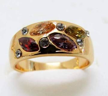 Multi color Stone setting Finger Ring