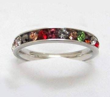 Multicolor Stone setting Finger Ring