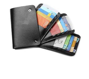 Pure Leather Credit Card Holder for Men