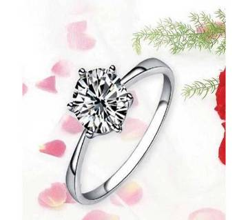 Love Crystal Woman Finger Ring