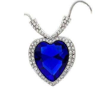 Titanic Heart Shaped Necklace
