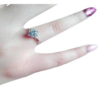 Silver Allow Finger Ring for Woman