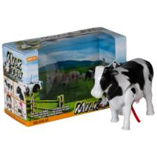 Battery Operated Milk Cow Toy - Black and White