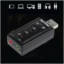 3D External USB অডিও সাউন্ড কার্ড