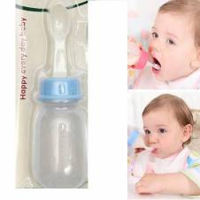 Silicone Spoon Weaning Bottle