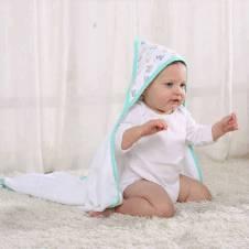 Bath Towel With Nice Handkerchief for Baby