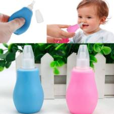 Nasal Vacuum Mucus Suction Aspirator Soft Tip Tools - Multicolor