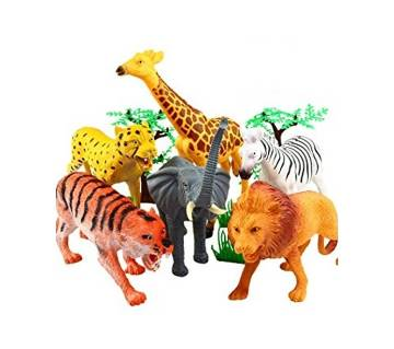 Animal Toy Set - Multi-color