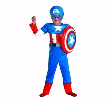 Captain America রেট্রো কস্টিউম ফর কিডস