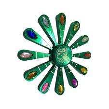 Green Trippy ফিজেট স্পিনার