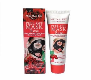 Meinaier Peel Off Mask- Rose-120 ml