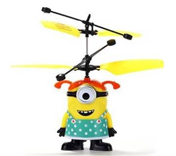 Flying Minion Helicopter Kids Toy