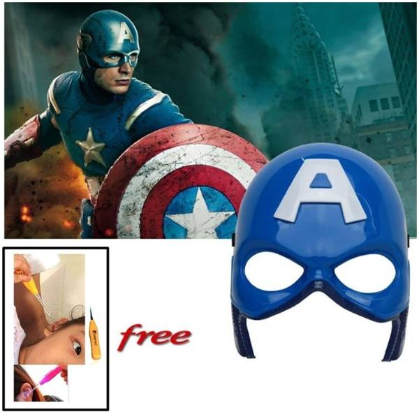 Captain America LED মাস্ক উইথ ইয়ার পিক বাংলাদেশ - 600153