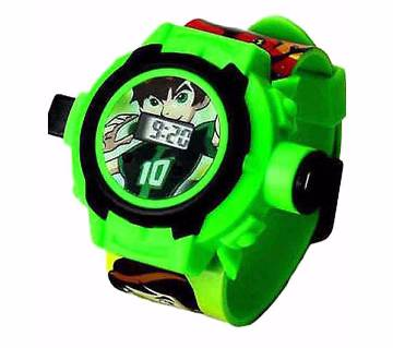 Kids Ben 10  Projector Watch