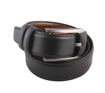 Black Leather Belt For Men