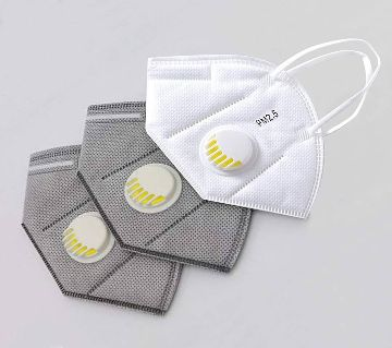 Anti Pollution & Safety Mouth Face Mask 3pes