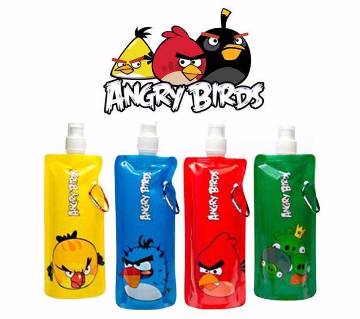 Portable Angry Bird Water Bottle