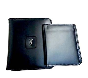 YSL artificial leather wallet for men