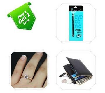 Buy One Finger Ring & Bogesi wallet and Get One LA