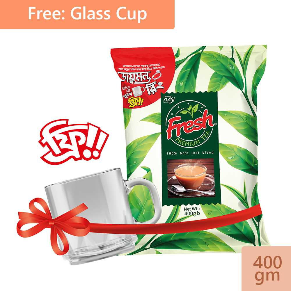 Fresh Premium Tea (Cup Free) 400 gm