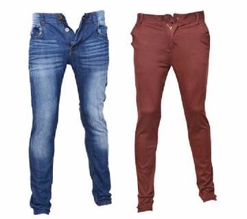 Alcott Denim Pant (copy) + Gabardine Pant Combo