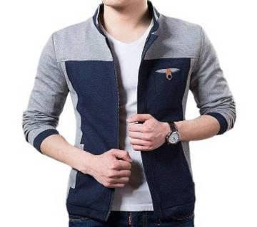 gents regular fit cotton jacket