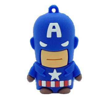Captain America style pen drive-32 GB
