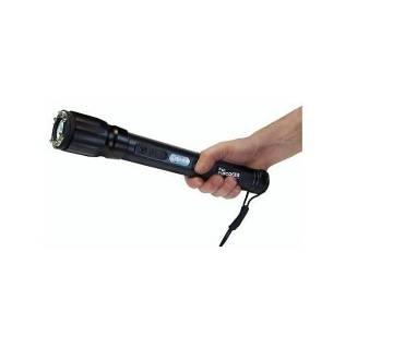 Stun-Gun Shocker With Torch - Black