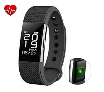 Fitness Tracker Heart Rate Monitor Touch Screen F2