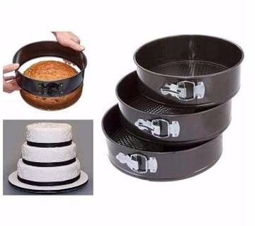 Round Shaped Pan Cake Set (3 Pieces)