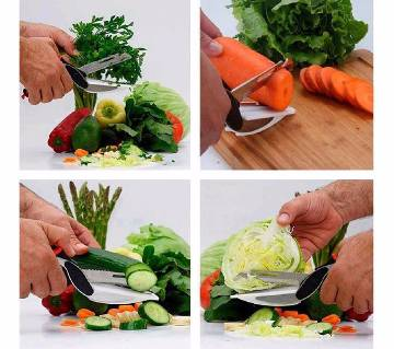 6 in 1 Smart Cutter Knife