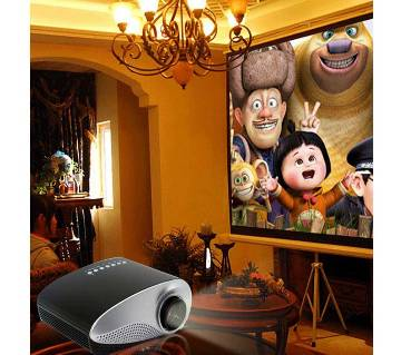 120 inch curtain TV projector