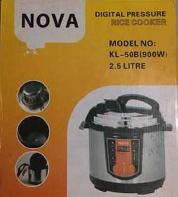 Nova kl-50b{900w} রাইস কুকার