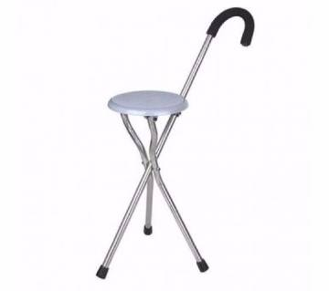 Portable Walking Stick cum Chair