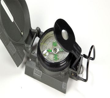 Military Marching Lensatic Compass(Army Green)