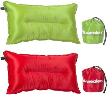 Camping Travel Pillow Automatic Inflatable  1  pice