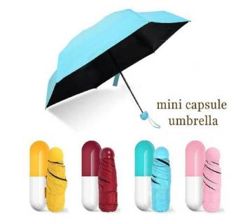 Mini Pocket Folding Capsule Umbrella