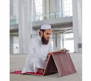 Muslim Prayer Mat Fold Backrest Janamaz 2 in 1(Malticalar)