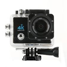 "4K Sports Action Camera 2"" LCD Display"