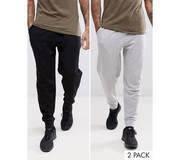 Gents cotton sleeping trousers -2 pcs