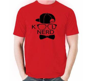 Kool Nerd Half Sleeve T-shirt