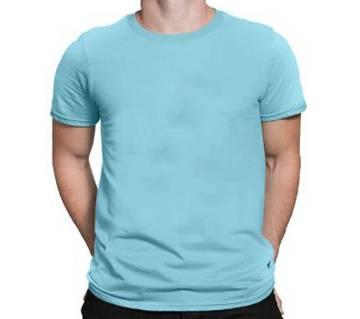 Mens Cotton Sky Round neck  t-shirt
